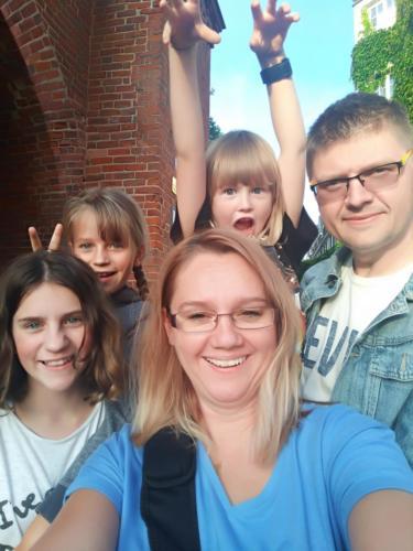 Rodzinnie i z uśmiechem